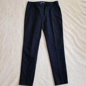 T Tahari Straight Leg Navy Dress Pants 4